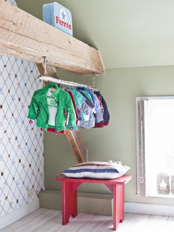 Binnenkijken interieur: Kinderkamers Saense Sjans landelijk & stoer