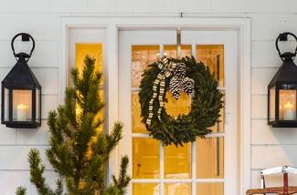 Kerst begint bij de deur