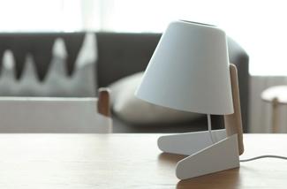 Minimalistisch tafellampje