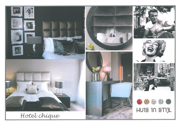 Slaapkamer Hotel Chique : Interieuradvies & realisatie Penthouse ...