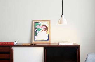 Blog: Porseleinen lampenkapje