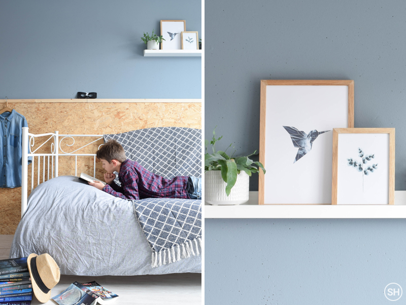 Posters in de slaapkamer - Inspiraties - ShowHome.nl