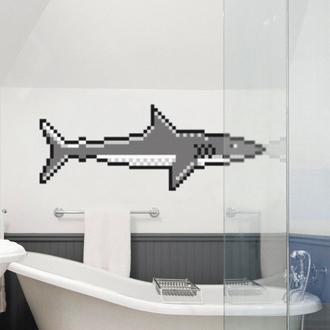PUXXLE haai in badkamer