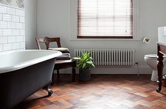 relaxte badkamer