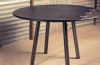 Blog: Ronde houten tafel