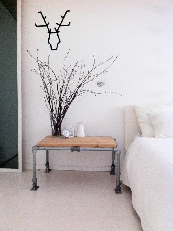 Zwart wit hout2 interieur for Interieur zwart wit