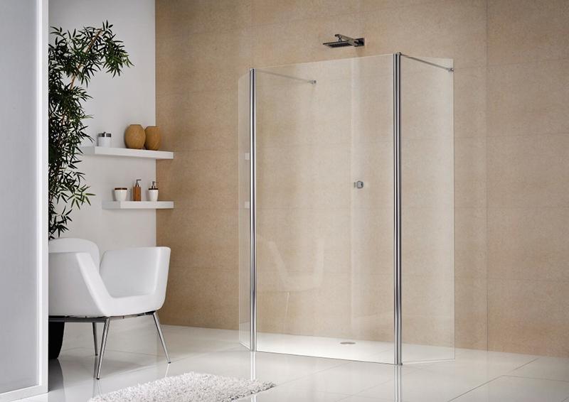 Glaswand Voor Inloopdouche : Inloopdouche en regendouche spetterende hit in de badkamer