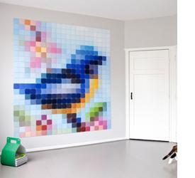 Maak je eigen muurdecoratie met een uniek systeem inspiraties - Muurdecoratie badkamer ...