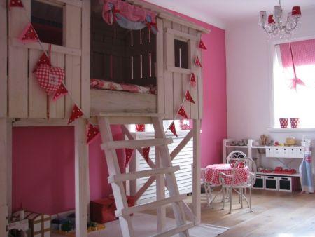 Baby kinder kamer roze interieur - Roze kleine kamer ...