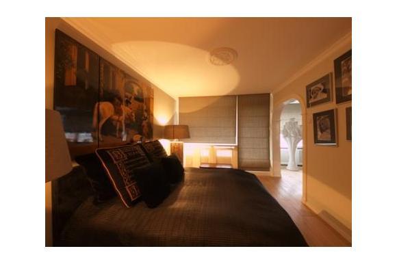 Landelijk en toch modern interieur for Slaapkamer landelijk modern
