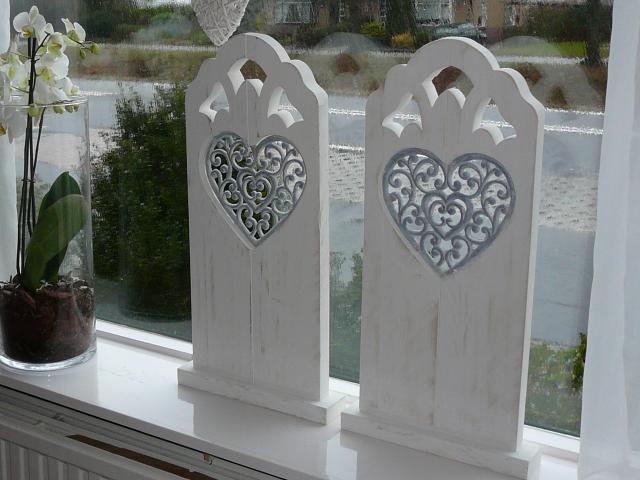Idee houten raamluiken met hart galerij foto 39 s van - Romantisch idee ...