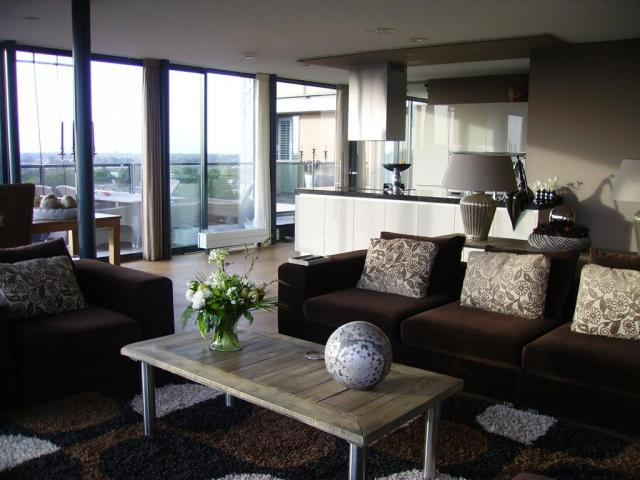 Lekker veel licht appartement interieur for Licht interieur