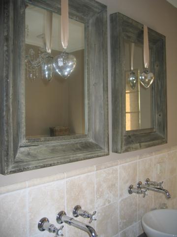 Landelijke badkamer interieur - Foto interieur decoratie ...