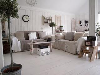 Vita huset wit huis interieur for Wit landelijk interieur