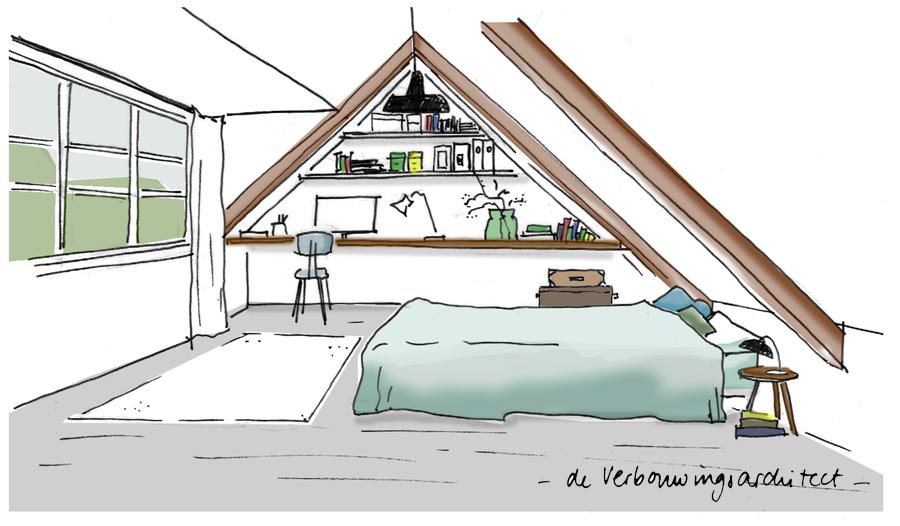 Geef jouw rommelzolder meerwaarde met een dakkapel for Tekening badkamer maken