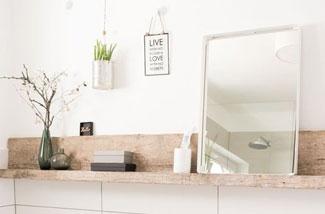 Ronde Spiegel Badkamer : Spiegel in de badkamer 5 keer anders dan anders inspiraties