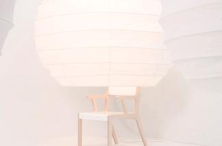 Blog: Stoel met lamp