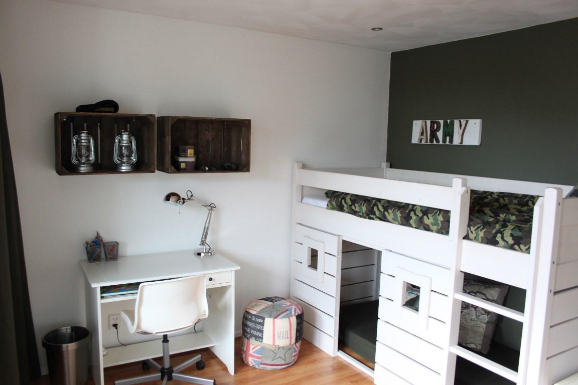 Slaapkamer voor een stoere 7 jarige interieurstylist - Slaapkamer van een meisje ...