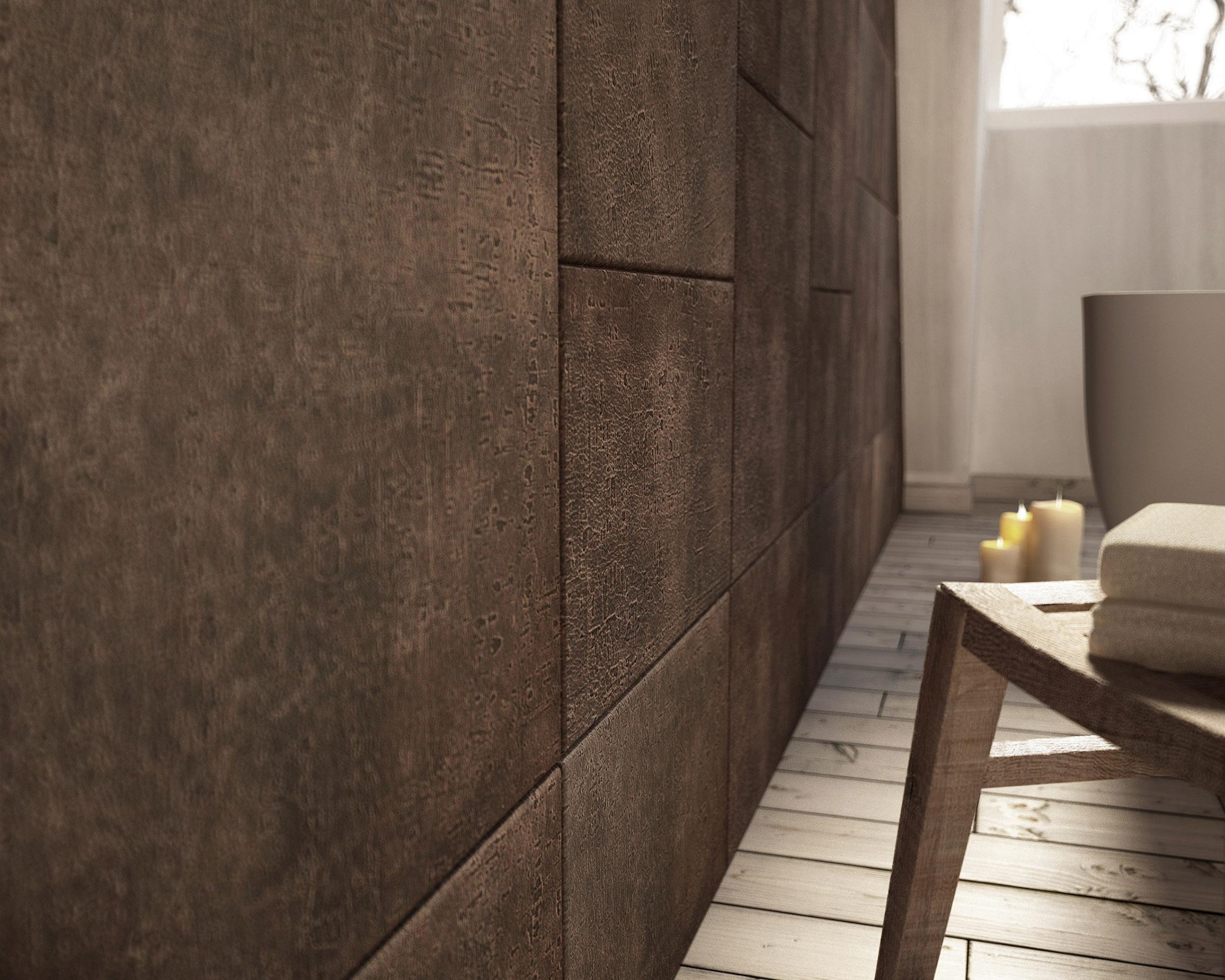 Tegels van leer in je badkamer inspiraties - Muur tegel installatie ...