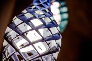 3D geprinte lampenkap