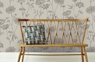 Haal de natuur in huis - met behang