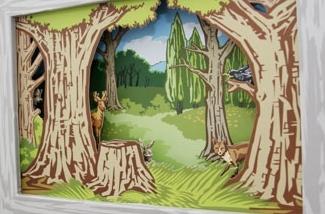 Blog: Bewegend schilderij voor de kinderkamer