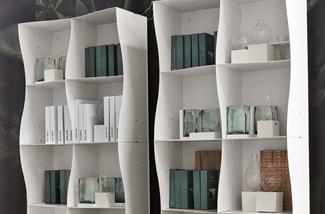 Blog: Boekenkast met organische vormen