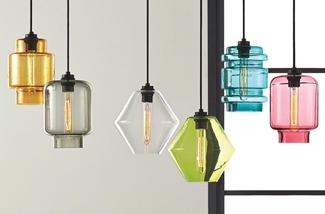 Blog: Hanglamp van gekleurd glas