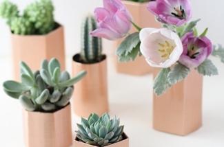 Blog: Koperen bloempotjes maken