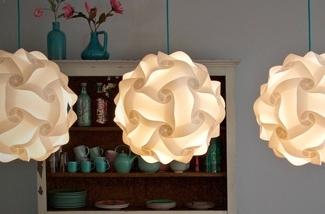 Leuke low budget lamp