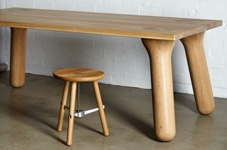 Blog: Stoere houten eettafel - Big Foot