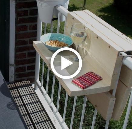DIY Balkontafeltje