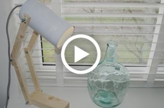 Blog: DIY Bureaulampje