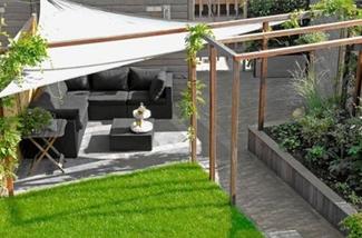 Tijd om te genieten van je onderhoudsvriendelijke tuin