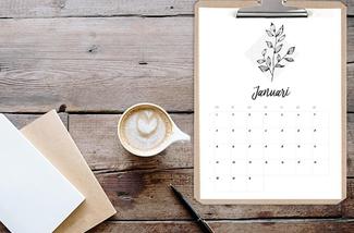 Toffe kalenders voor 2018