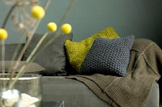 Uitbundig textiel voor een warm huis