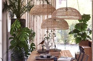 verlichting van bamboe