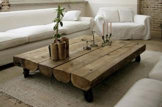 Blog: Verschillende houten salontafels