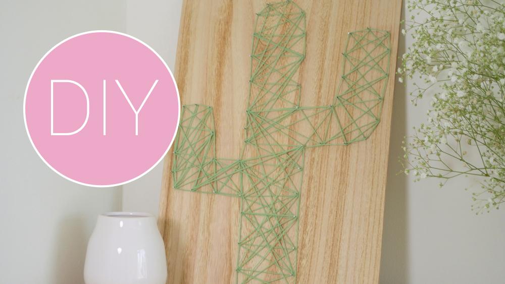 diy wanddecoratie cactus van draad inspiraties showhomenl