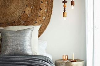 Vloerkleed als hoofdeind van je bed