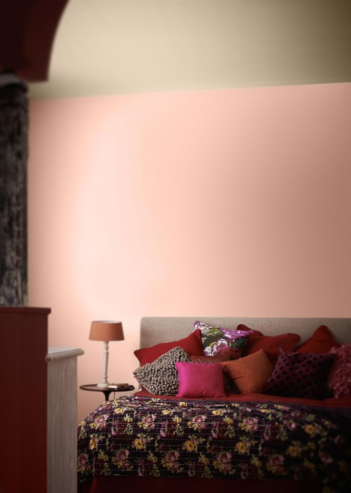 Wat doet kleur met je interieur inspiraties - Kleur rood ruimte ...