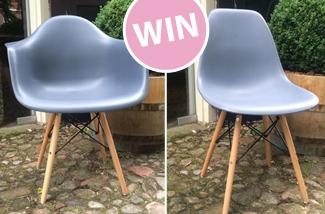 Win een prachtige stoel!