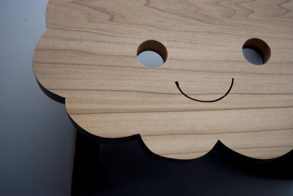 The sky is the limit - houten krukje voor kinderen