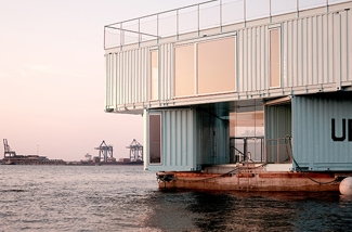 Woningen in containers