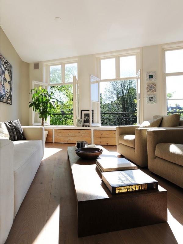 Interieur beige woonkamer ongemeubileerde beige woonkamer for Interieur woonkamer voorbeelden