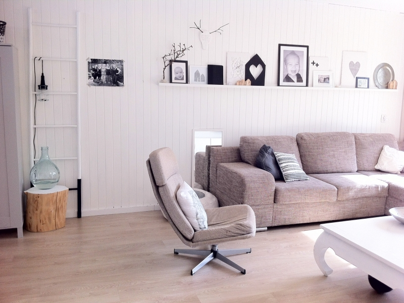 zwart wit hout - Interieur - ShowHome.nl