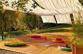 Zon interieur tuin inspiratie